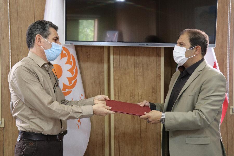 انتصاب  افشین موسوی راد سرپرست معاونت پشتیبانی شد.