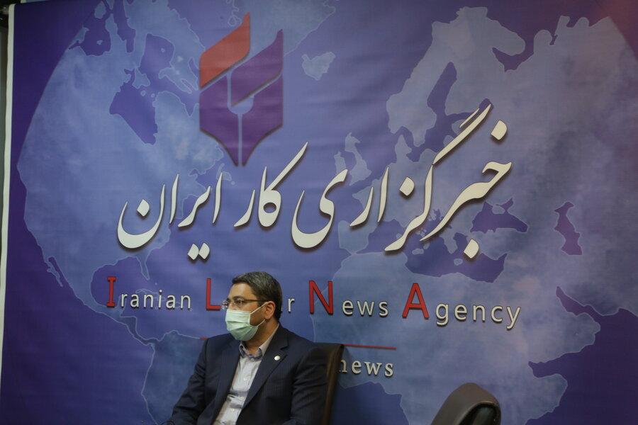بازدید رئیس سازمان بهزیستی کشور از خبرگزاری ایلنا در روز خبرنگار