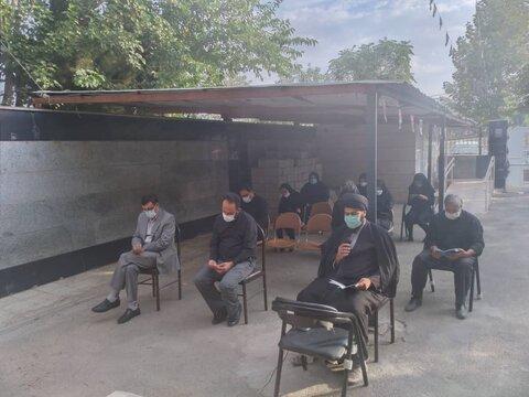 نظرآباد   برگزاری مراسم قرائت زیارت عاشورا و دعای فرج