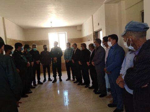 افتتاح ۲باب منزل مسکونی برای مددجویانبهزیستی شیروان