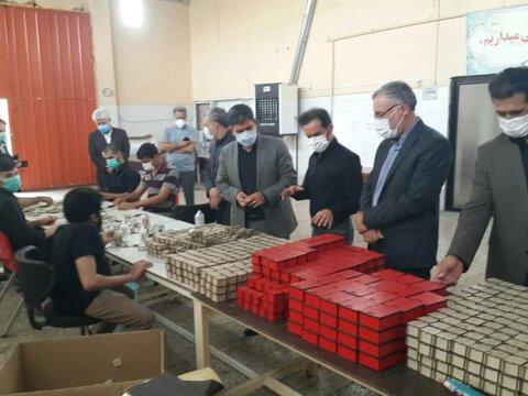 بازدید فرماندار اردبیل از پروژه ها و فعالیت های بهزیستی