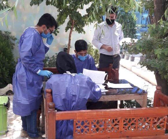 ملارد| واکسیناسیون بیماران و پرسنل مراکز توانبخشی ذهنی