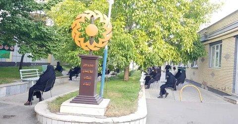 گزارش تصویری از برگزاری مراسم زیارت عاشورا در ستاد بهزیستی