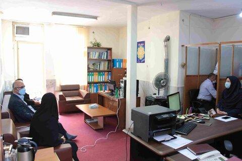 گزارش تصویری | نشست صمیمی مدیرکل با همکاران و مددجویان مرکز مداخله در بحران