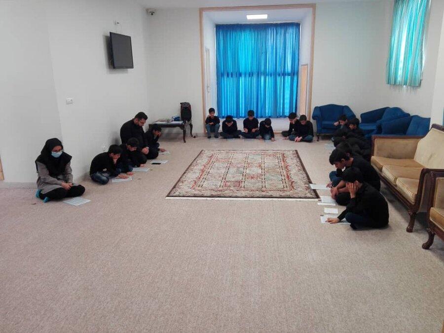 گزارش تصویری   شاهرود   برگزاری مراسم عزاداری ماه محرم در مراکز شبه خانواده