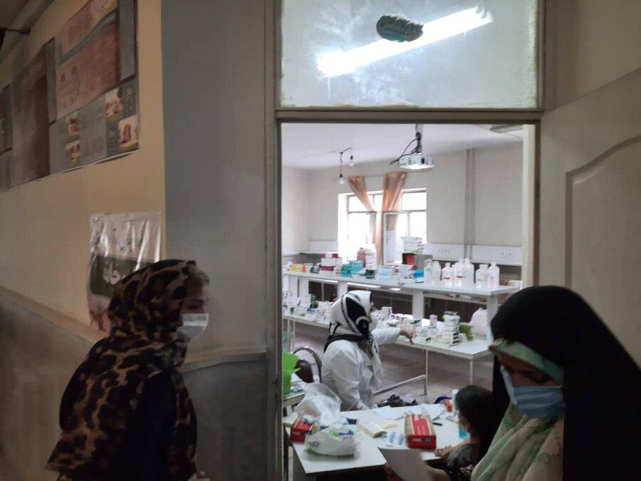 تعداد 1200 نفر از جامعه هدف بهزیستی و آحاد مردم در اردوی جهادی غدیر به میزبانی گروه جهادی راه آسمان ویزیت شدند
