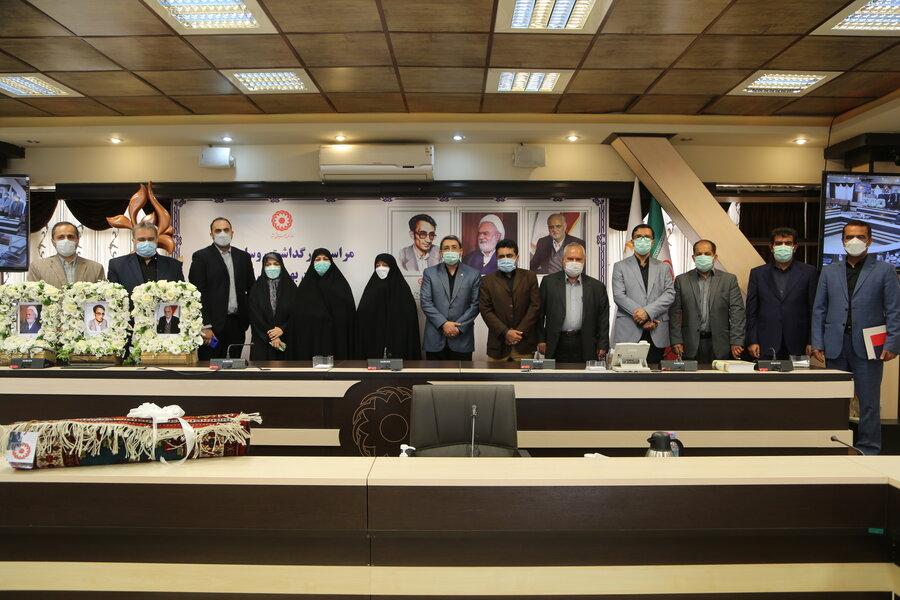 مراسم بزرگداشت روسای فقید سازمان بهزیستی کشور