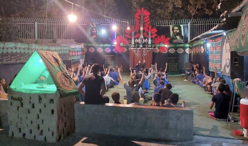 شهرقدس| برگزاری مراسم عزاداری در مراکز اقامتی ترک