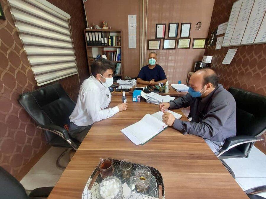 شهریار  بازدیدمیدانی ازمراکزاقامتی میان مدت