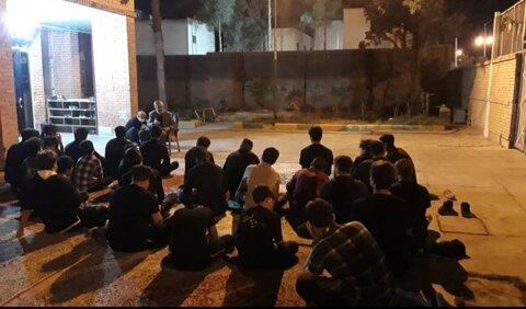 گزارش تصویری | برگزاری مراسم عزاداری ماه محرم در مراکز شبه خانواده استان