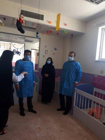 گزارش تصویری/بازدیدمدیرکل بهزیستی خراسان شمالی از مرکز شیرخوارگان