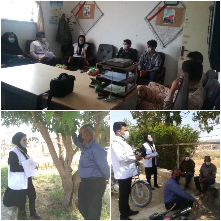 سپیدان  حضوراورژانس اجتماعی بهزیستی سپیدان در بیضا