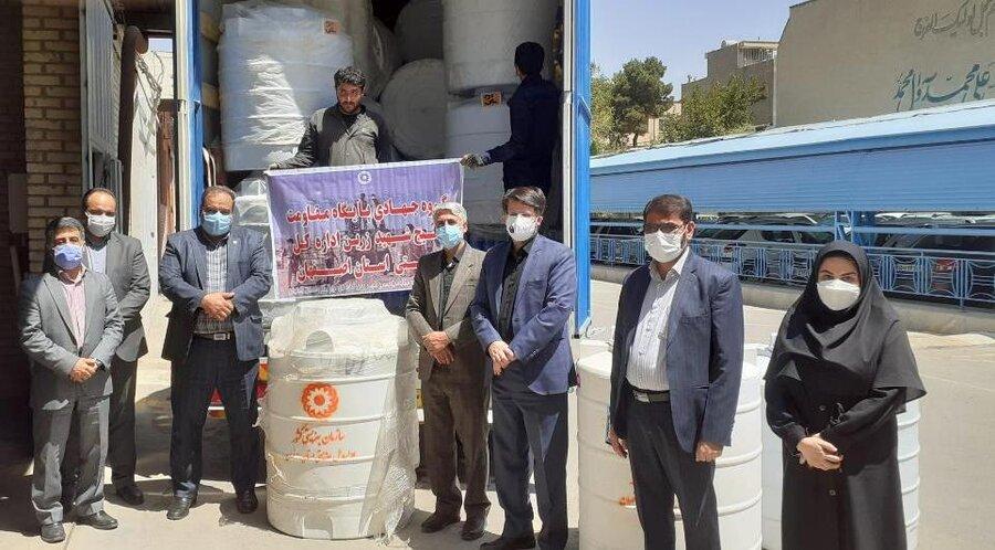 ۲۸ عدد تانکر آب به استان سیستان و بلوچستان ارسال شد
