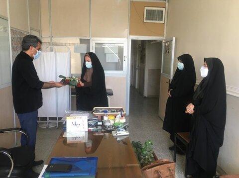 گزارش تصویری  تجلیل از آزادگان و پزشکان شاغل در اداره کل بهزیستی استان