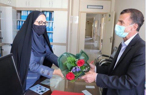 گزارش تصویری| تجلیل از آزادگان و پزشکان شاغل در اداره کل بهزیستی استان