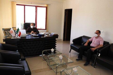 تقدیر مدیرکل بهزیستی اذربایجان غربی از پزشکان شاغل در بهزیستی استان