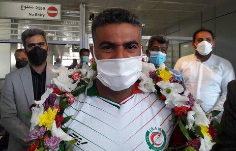 در رسانه | بدرقه ورزشکار هرمزگانی برای اعزام به مسابقات پارالمپیک توکیو