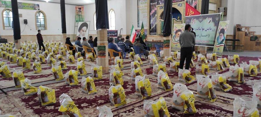 اجرای طرح مواسات و همدلی درشهرستان جاجرم