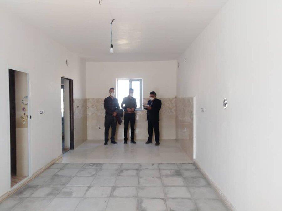تحویل ۲ واحد مسکونی به مددجویان بهزیستی درمانه و سملقان
