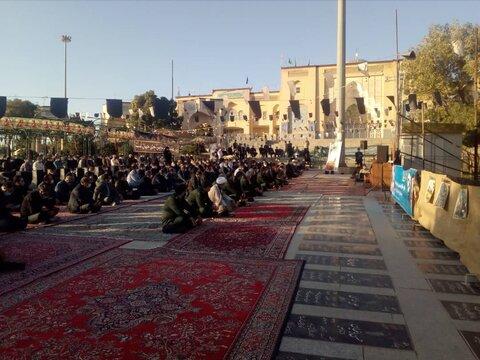 حضور مدیران  ارشد استان در گلزار شهدا به مناسبت هفته دولت