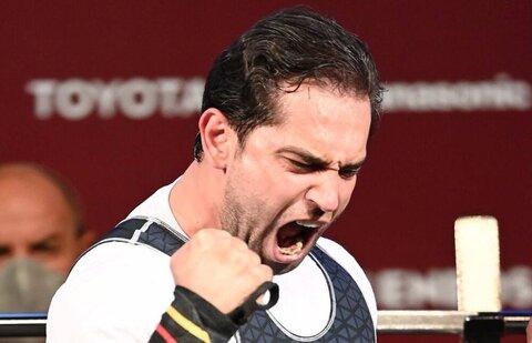 جعفری اولین مدال آور ایرانی پارالمپیک ٢٠٢٠ شد