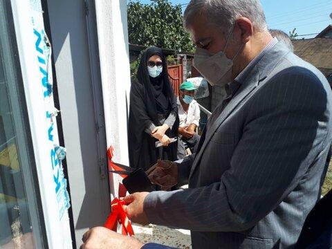 افتتاح پنج واحد مسکن مددجویی به مناسبت هفته دولت در لاهیجان