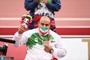 مختاری، صاحب مدال نقره پارا المپیک شد