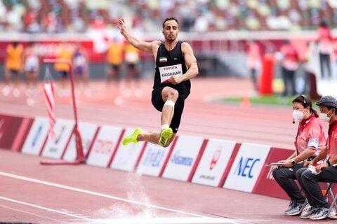 خسروانی در پرش طول چهارمین طلای پارالمپیک ایران را کسب کرد