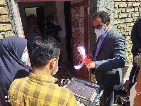 افتتاح مسکن دو معلولی و بیشتر در شهر هزار کانییان دیواندره به مناسبت هفته دولت