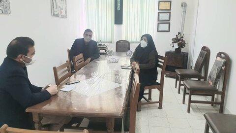 بازدید شهردار کهک از اداره بهزیستی شهرستان کهک