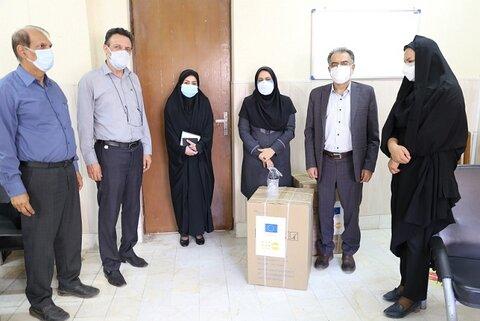 توزیع ۸ دستگاه اکسیژن ساز اهدایی سازمان ملل بین مراکز بهزیستی هرمزگان
