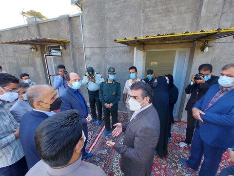 گزارش تصویری تجمیعی | سفر دو روزه مدیرکل بهزیستی خراسان رضوی به شهرستان های استان