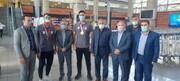 گزارش تصویری| استقبال مدیران سازمان بهزیستی از مدال آوران جودو در پارا المپیک توکیو