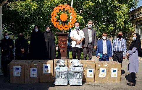 ۱۰ دستگاه اکسیژن ساز در بین مراکز شبانه روزی بهزیستی توزیع شد