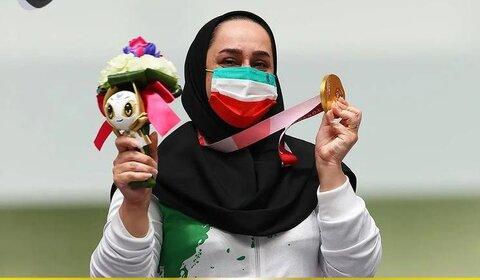 پیام تبریک دکتر کشفی نژاد به بانوی قهرمان طلای پارالمپیک