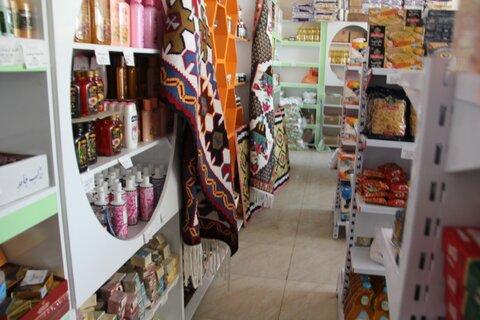 گزارش تصویری| بازارچه دائمی فروش محصولات تولیدی زنان سرپرست خانوار ایلام افتتاح شد