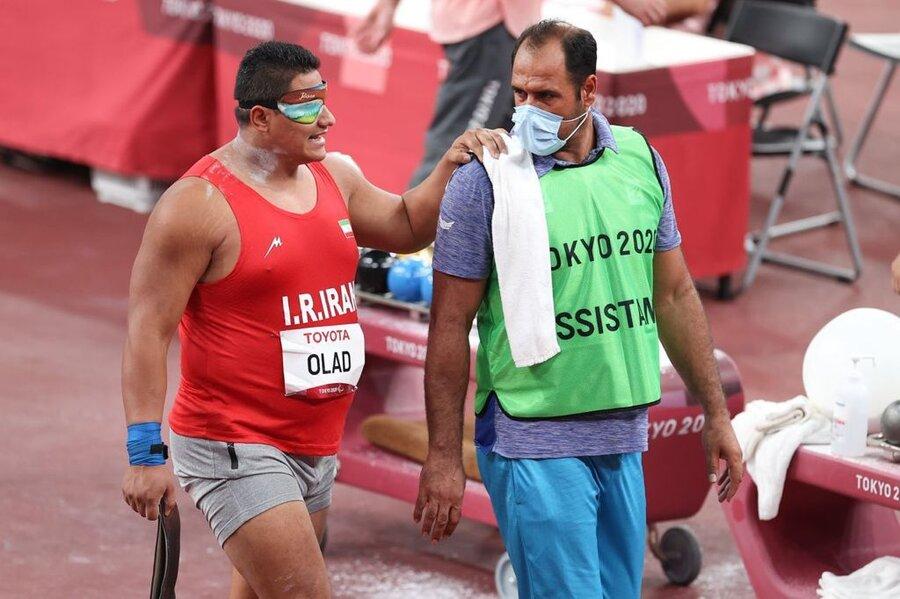 پیام تبریک مدیرکل بهزیستی فارس به مهدی اولادی قهرمان طلای پارالمپیک