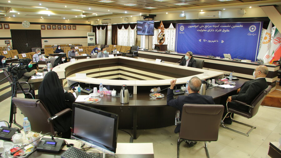 نخستین نشست کمیته مراجع ملی کنوانسیون حقوق افراد دارای معلولیت
