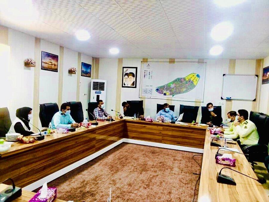 دیر نشست کارگروه تخصصی ساماندهی کودکان کار و خیابانی شهرستان دیر برگزار شد