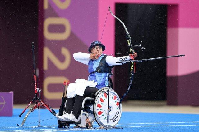 تاریخسازی «زهرا نعمتی» کماندار کرمانی با کسب سه مدال طلای پارالمپیک