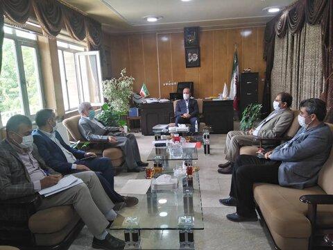 دیدار مدیرکل بهزیستی آذربایجان غربی با فرماندار و نماینده مردم بوکان در مجلس شورای اسلامی
