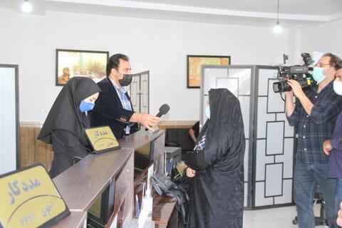ضبط برنامه مشارکتی بهزیستی استان با صدا و سیمای مرکز اردبیل