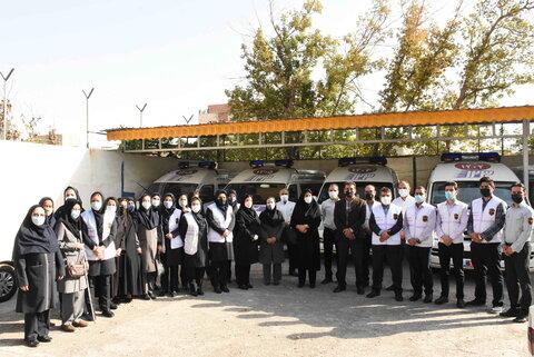 گزارش تصویری | بازدید مدیرکل بهزیستی خراسان رضوی از مرکز اورژانس اجتماعی مهرحقی مشهد