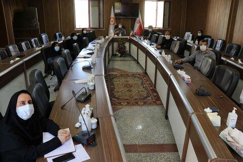 برگزاری پنجمین جلسه ستاد اشتغال و کارآفرینی بهزیستی آذربایجان غربی