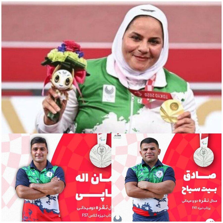 پیام تبریک مدیر کل بهزیستی خوزستان به مدال آوران پارالمپیک توکیو ۲۰۲۰