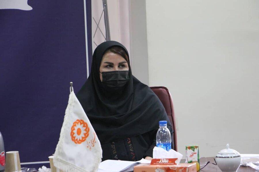 نشست تخصصی مدیر با کارشناسان حوزه توانبخشی برگزار شد