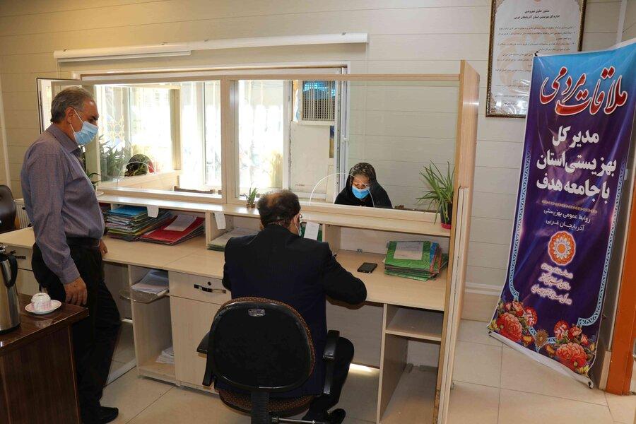 ملاقات مردمی مدیر کل بهزیستی آذربایجان غربی با جامعه هدف