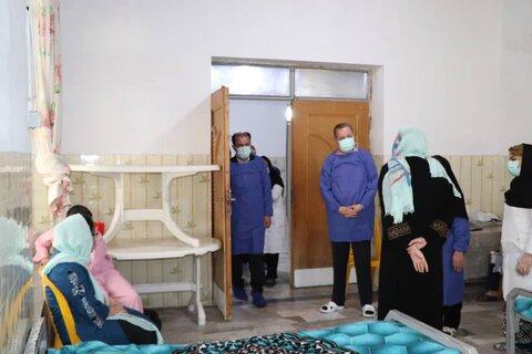 بازدید مدیرکل بهزیستی مازندران از مرکز نگهداری دختران دارای معلولیت ذهنی شهرستان آمل