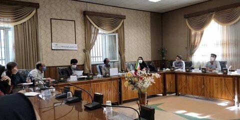 جلسه هماهنگی مابین اداره کل بهزیستی و اداره آموزش و پرورش استثنایی