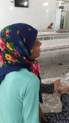 حال دختر معلول مینابی مساعد است / وی هم اکنون از خدمات شبانه روزی مرکز نگهداری معلولین حبیب ابن مظاهر بهره مند است